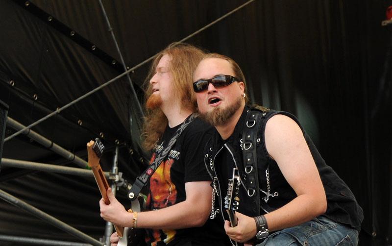 Orden Ogan, live, Rock Harz 2011