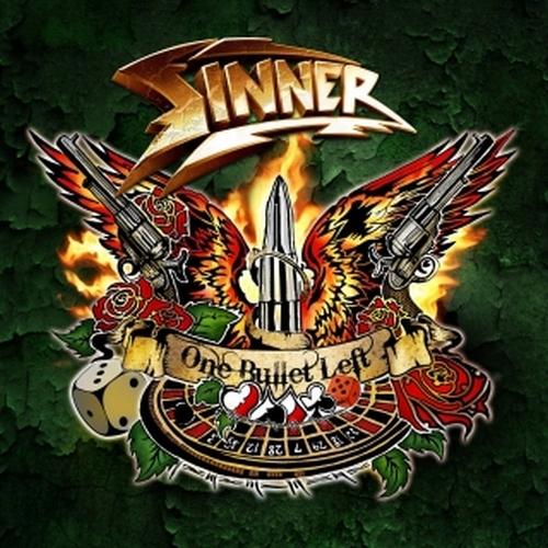 Sinner, One Bullet Left, Cover