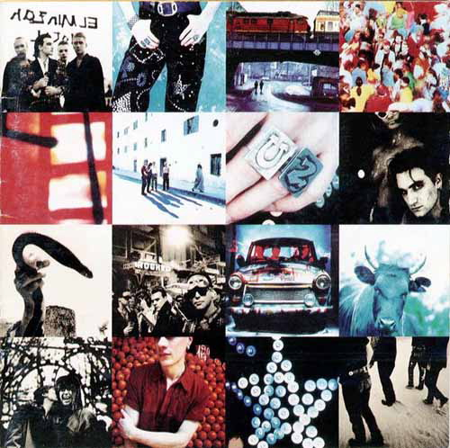 U2, Achtung Baby, Cover