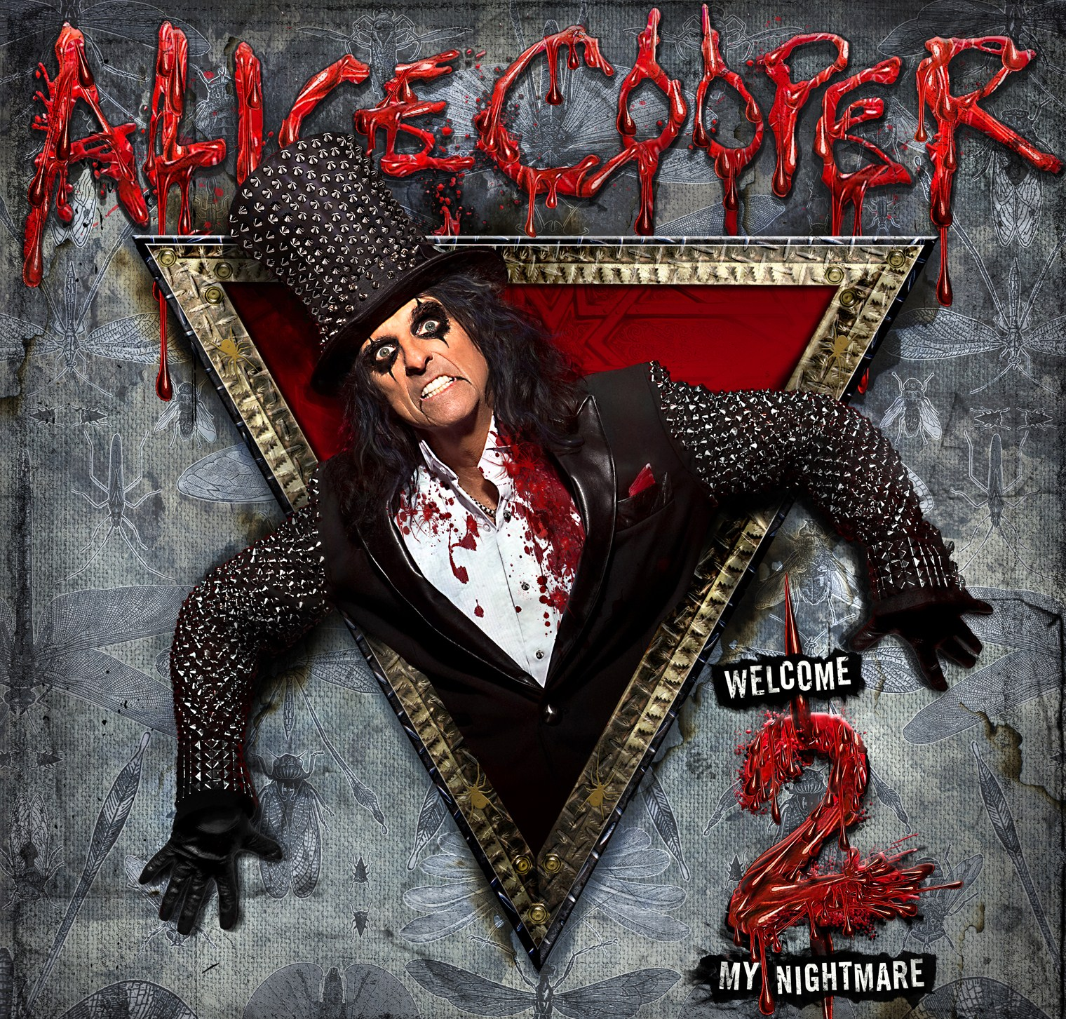 Alice Cooper, Welcome 2 My Nightmare, Cover