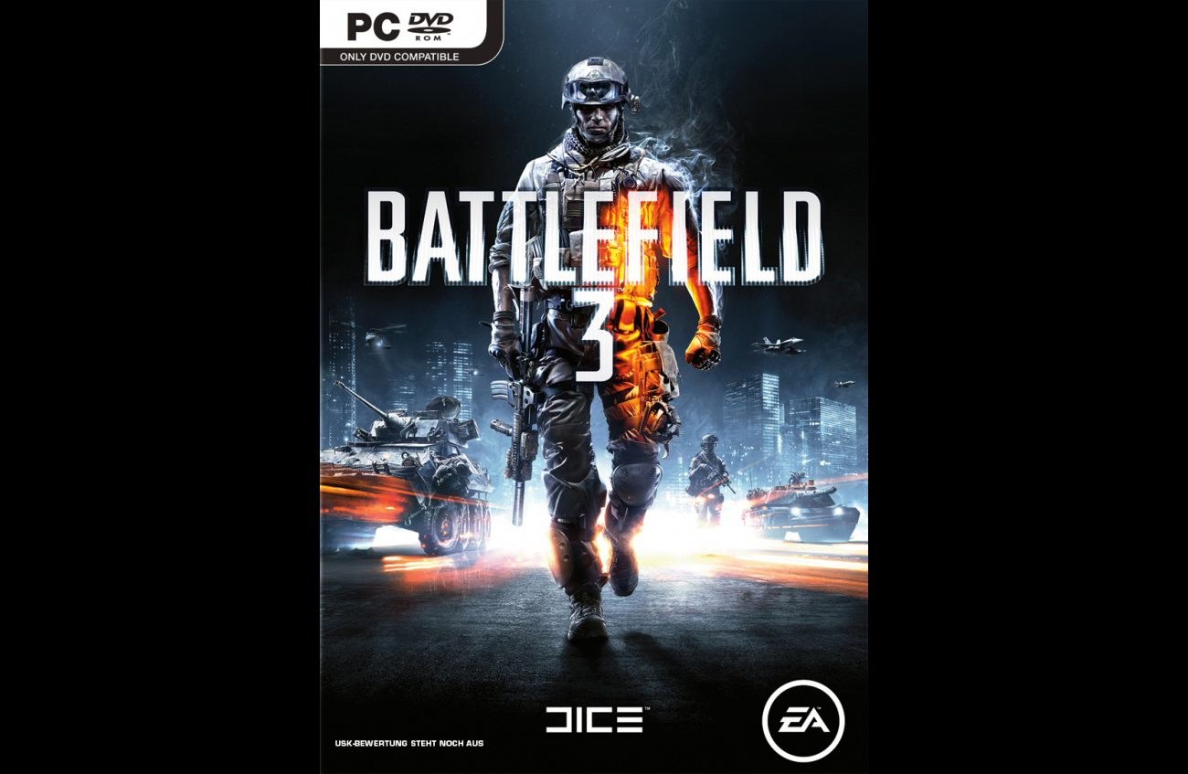 Battlefield 3, Cover