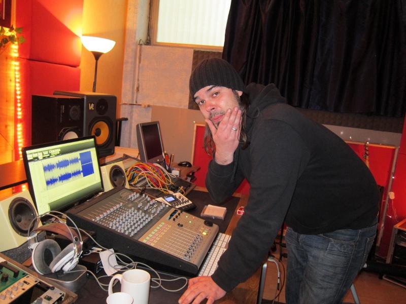 Mit Eisregen im Studio, 2011