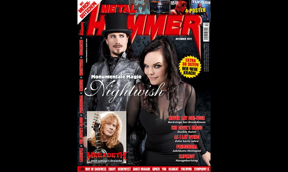 Metal Hammer, Dezember 2012 Ausgabe, Titel