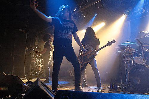 Warbringer, live, 20.12.2011 München, Backstage Werk