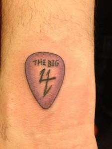 Charlie Benantes Big Four-Tattoo