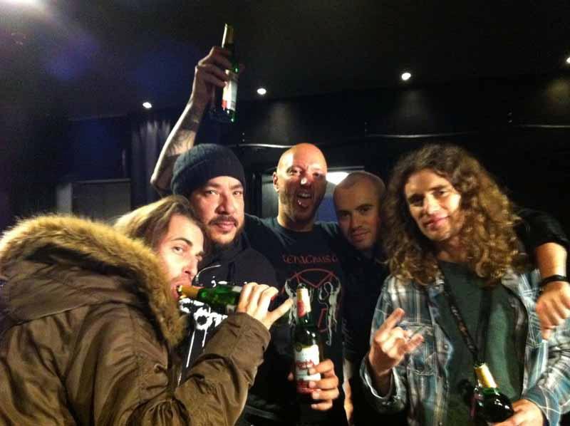 Darkest Hour auf Tour mit Machine Head