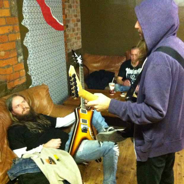 Darkest Hour auf Tour mit Machine Head, 2011