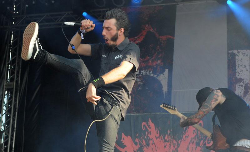 Caliban, live, Rock Harz 2011