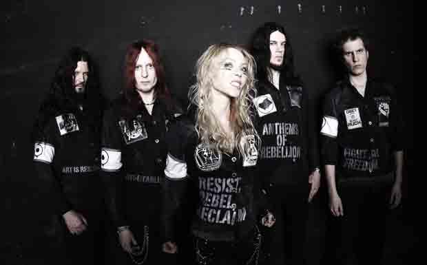 Arch Enemy Promo-Foto 2011