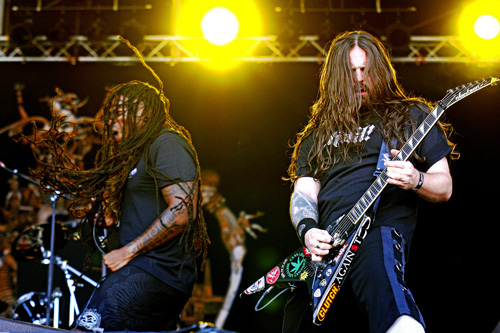 Sepultura live, With Full Force 2009