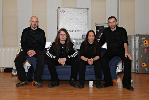 Blind Guardian im Studio