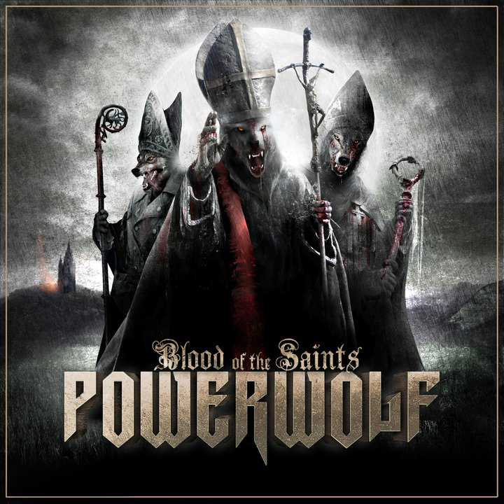 Powerwolf, Blood Of The Saints, Cover