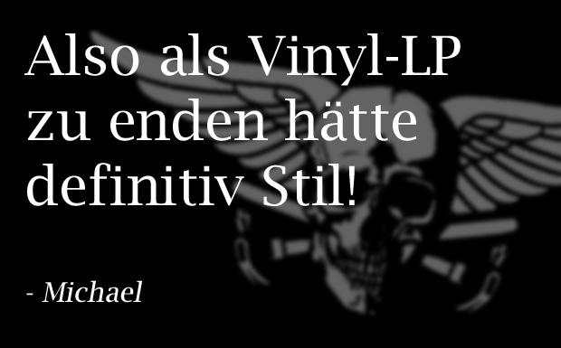 Asche, Munition, Vinyl - so wollen METAL HAMMER Leser nach dem Tod erhalten bleiben