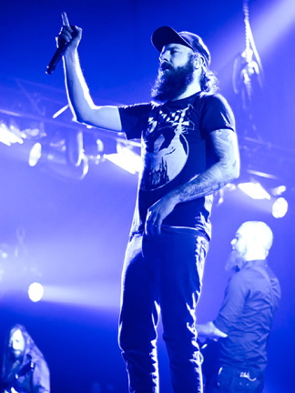 In Flames, live, 26.11.2011 Hamburg, Sporthalle