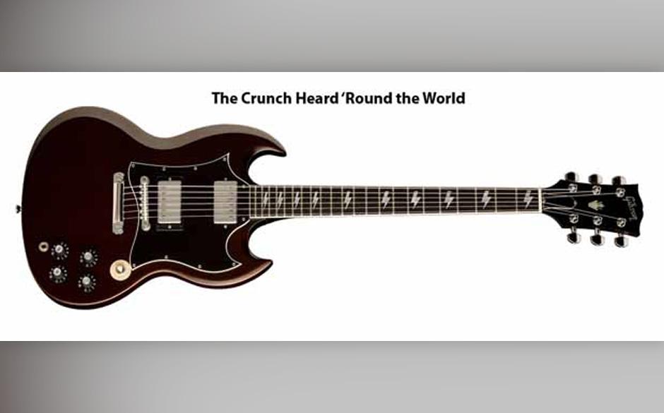 Signature Gitarre von Angus Young