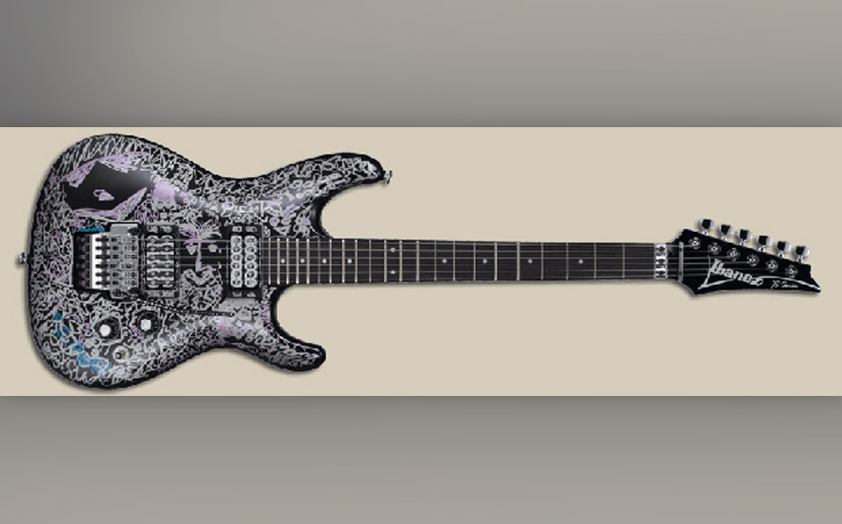 Signature Gitarre von Joe Satriani
