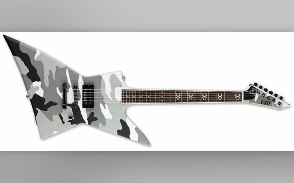 Signature Gitarre von Max Cavalera