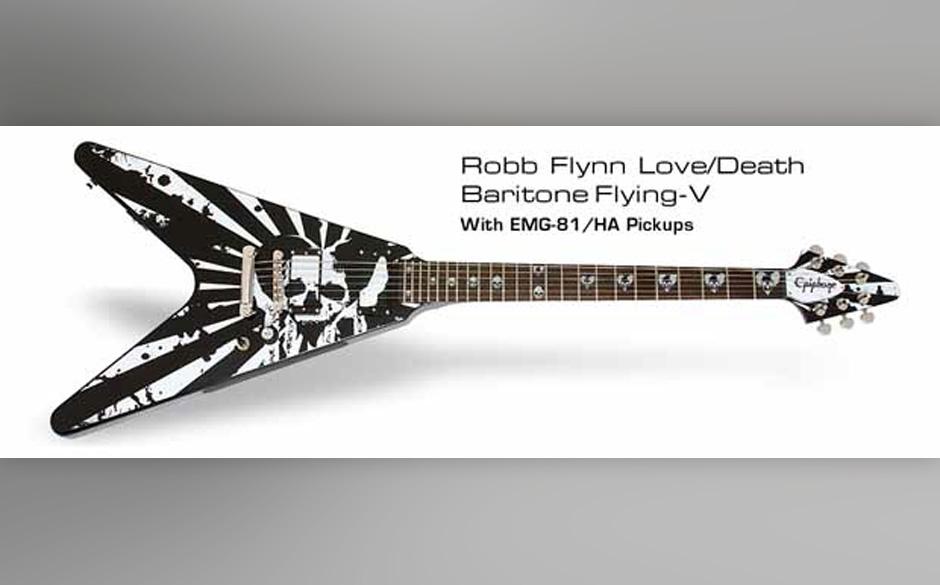 Signature Gitarre von Robb Flynn