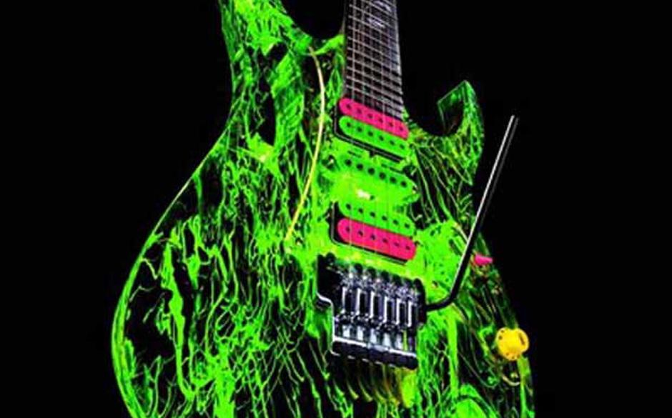 Signature Gitarre von Steve Vai