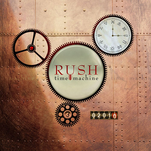 Rush CD-Cover Time Machine