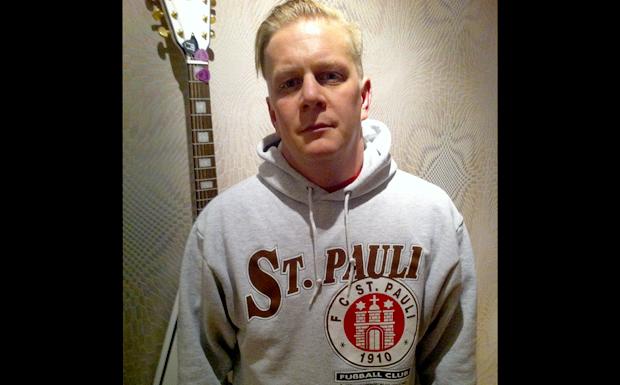St-Pauli-Fan Andre Moraweck von Maroon