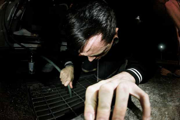 War From A Harlots Mouth, auf Tour in Australien, 2011