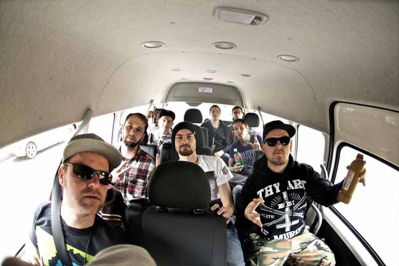 War From A Harlots Mouth, auf Tour in Australien 2011