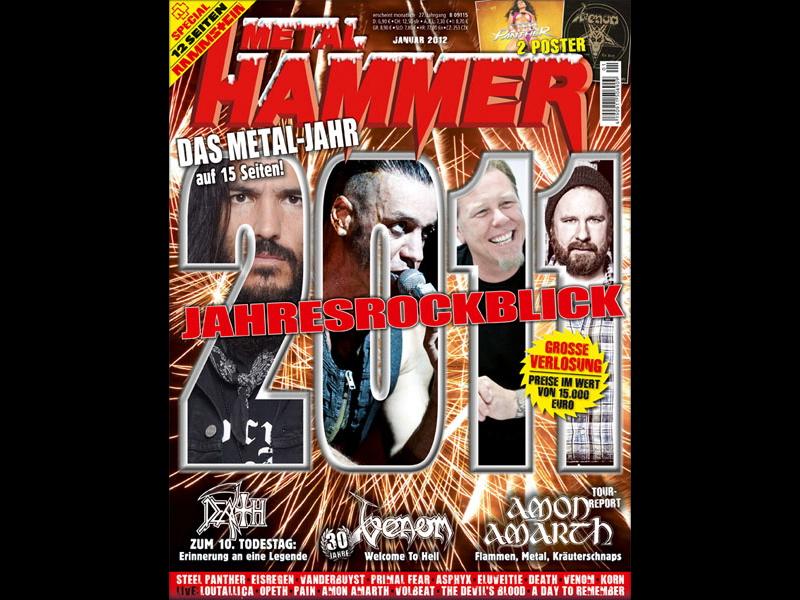 METAL HAMMER Cover Januar 2012