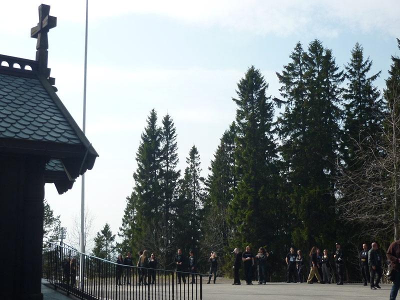 Black Metal Sightseeing: Holmenkollen Kapell, am 23.08.1992 angezündet, 1996 wieder aufgebaut