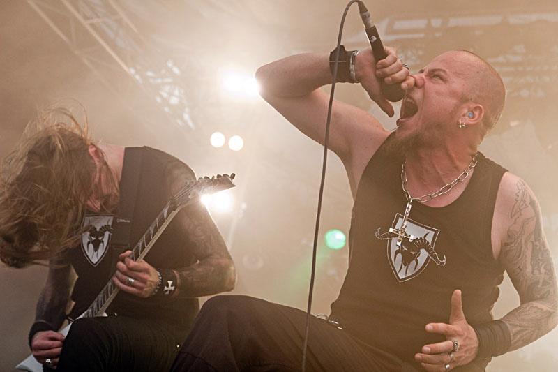 Negator, live, Wacken 2011