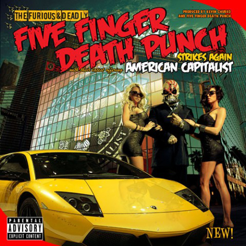American Capitalist Cover Five Finger Death Punch