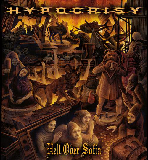 Hell Over Sofia Cover