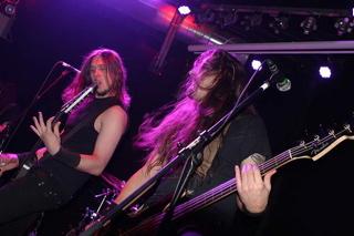Evile, live, 17.01.12 München, Backstage