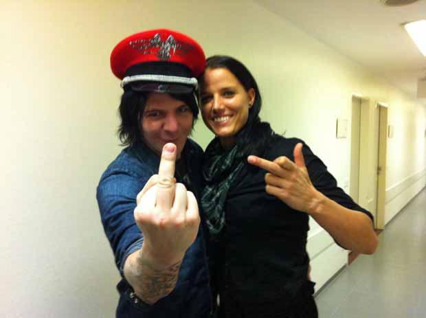 Deathstars, auf Tour mit Rammstein 2011