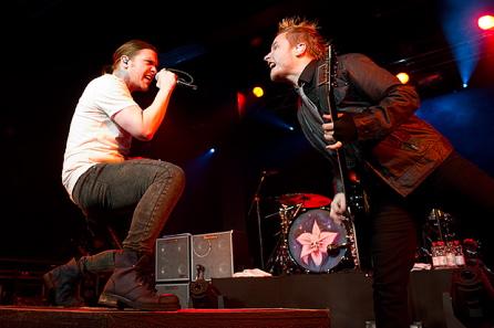 Shinedown, live, 01.02.2012 Hamburg, Große Freiheit