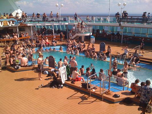 70.000 Tons of Metal Cruise 2012 - Telnehmer-Sicht