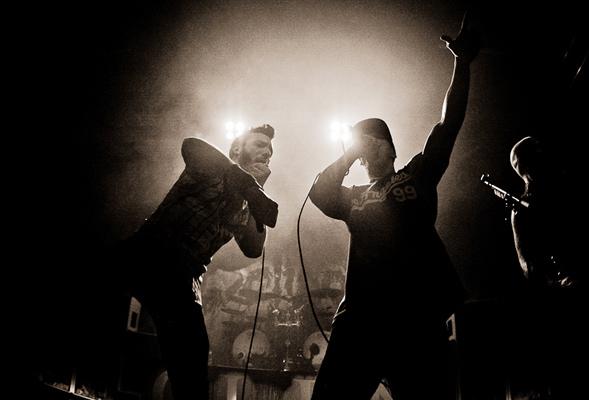 Caliban, live, 16.02.2012 Wien, Arena