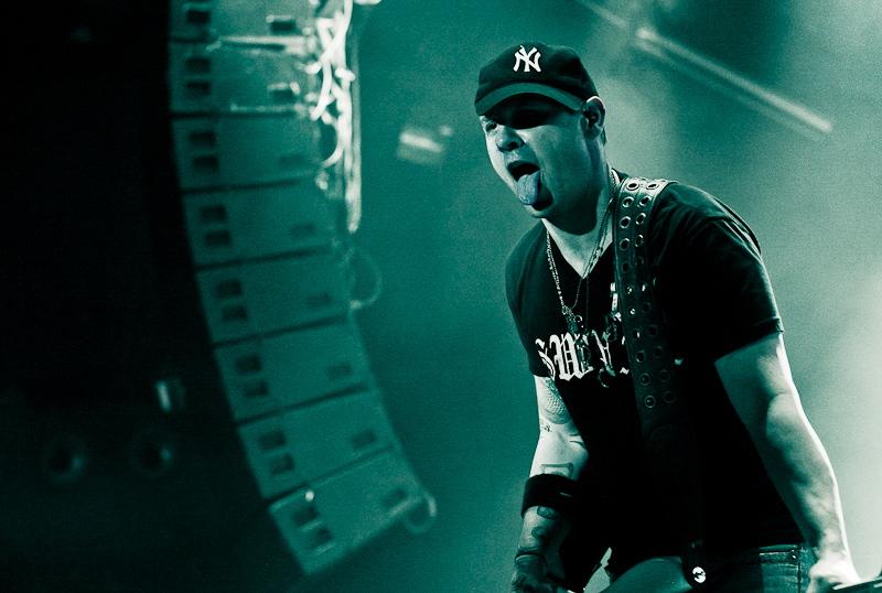 3 Doors Down, live, 01.03.2012 Wien, Gasometer