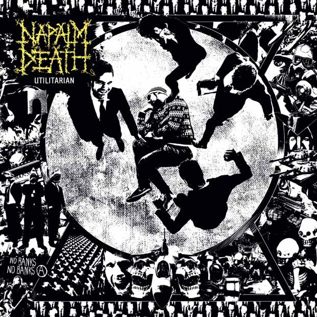 Napalm Death, Utilitarian, Cover, 2011