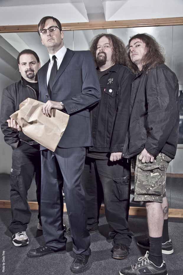 Napalm Death, Promo Bild, 2011
