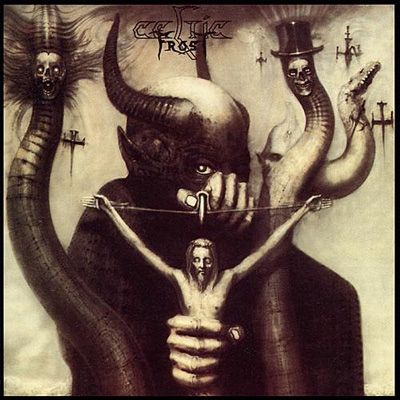 Album-Artworks, made by H.R. Giger