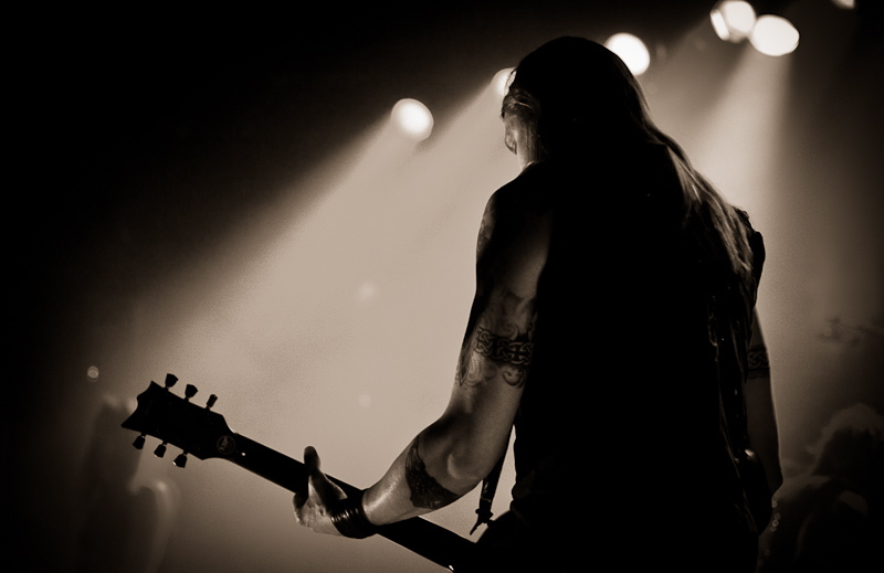 Amorphis, live, 10.01.2012 Wien, Szene