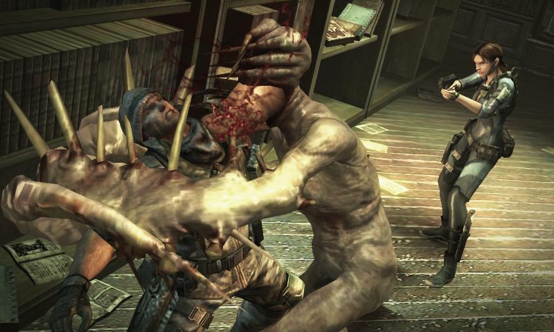 Resident Evil Revelations, Szenenbild