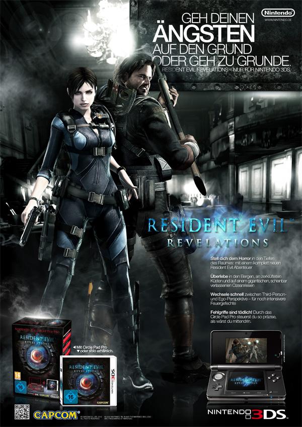 Resident Evil Revelations, Poster