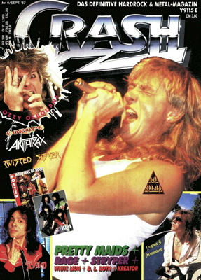 Crash - Heavy Metal Mag der 80er, Schwester vom METAL HAMMER
