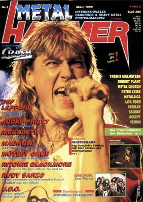 Der METAL HAMMER in den 80ern
