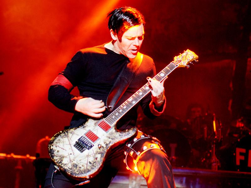 Rammstein, Richard Kruspe, live 2010