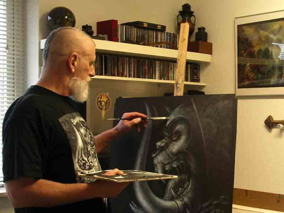 Joe Petagno, im METAL HAMMER 02/2012