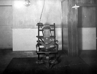 Der erste elektrische Stuhl