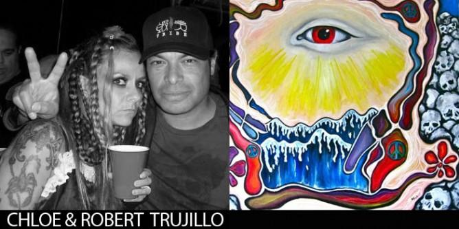 Robert und Chloe Trujillo